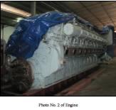 Unused Diesel Generator Sets