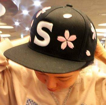 new Dongguk door spring and summer 2014 fashion hat for women models S Superman cherry petals hip-ho