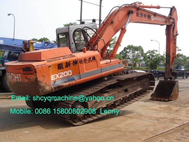 Used hitachi ex200 excavator ex200-1