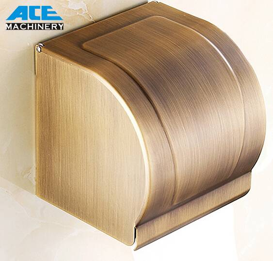 Bathroom Toilet Wall Mounted Tissue Box Paper Holder