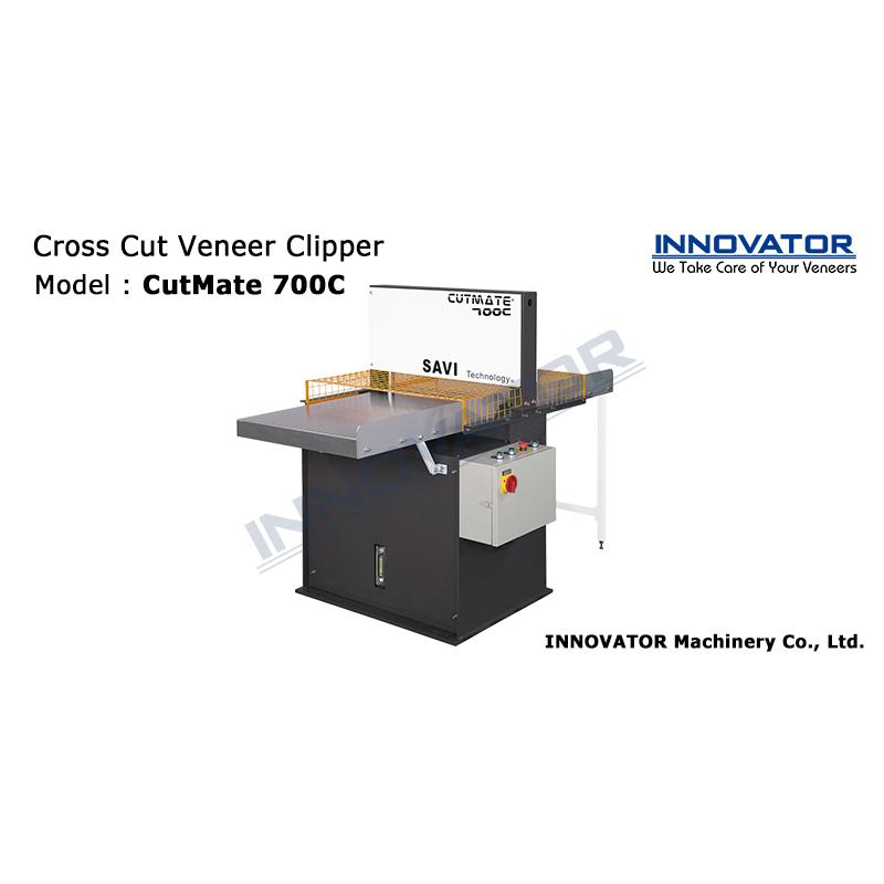 Cross Cut Veneer Clipper (Model: CutMate 700C)