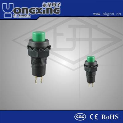 Hot sale 1A 250VAC double pole double throw push button switch
