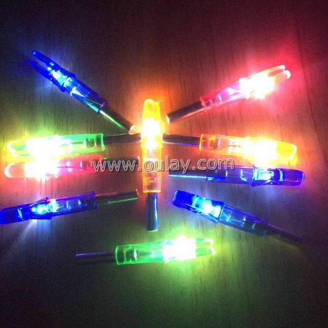 Lighted Led Nocks for 6.2mm carbon arrows