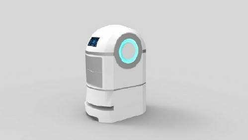 Trackless Navigation Service Robot