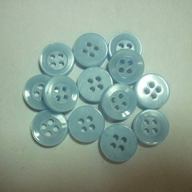 4 holes shell effect pearl button