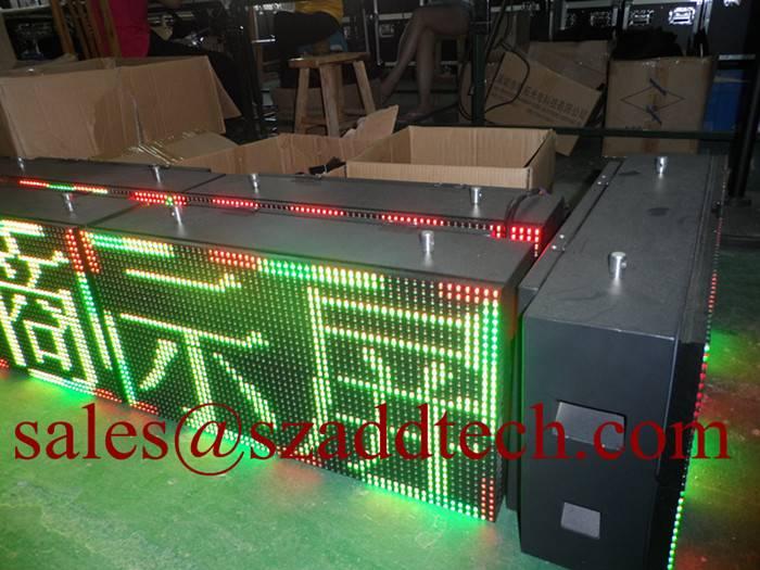 P10mm USA LED Messages Signage