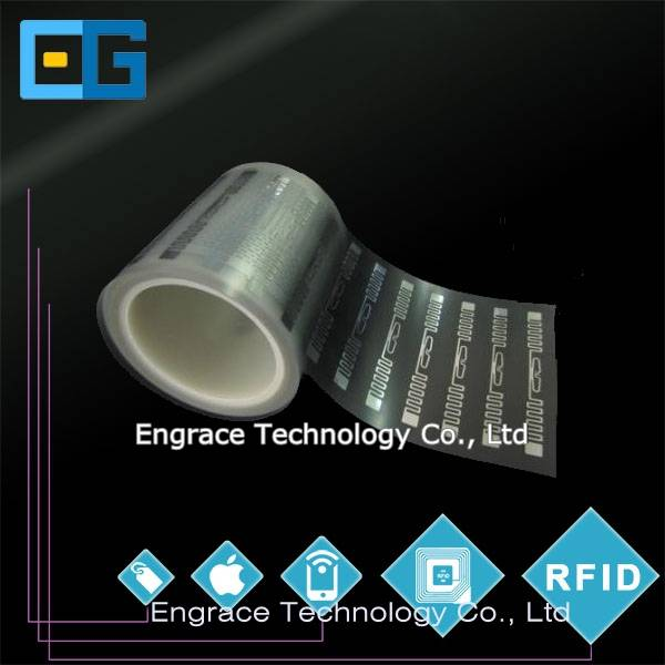 RFID Inlay, 13.56MHz HF inlay, 860-960MHz UHF inlay