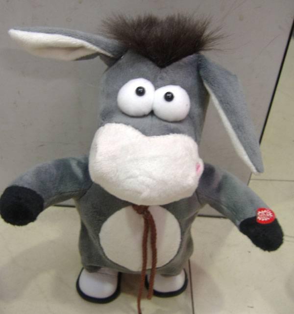 electronic walking donkey toys