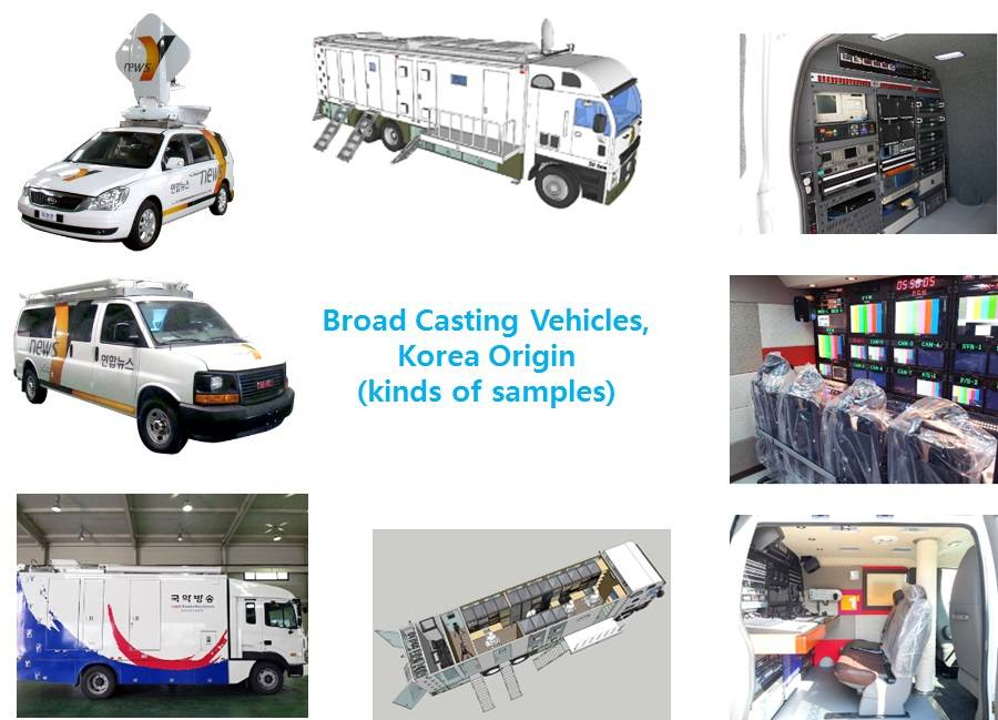 Radio & Broadcasting vehicles