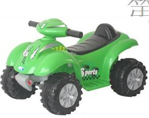 Children ride on toys car electric green color BJ9910