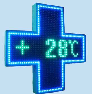 LED Pharmacy Cross
