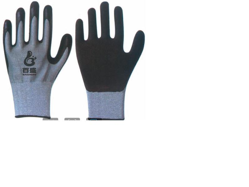 Cut Resistance glove Latex crinkle