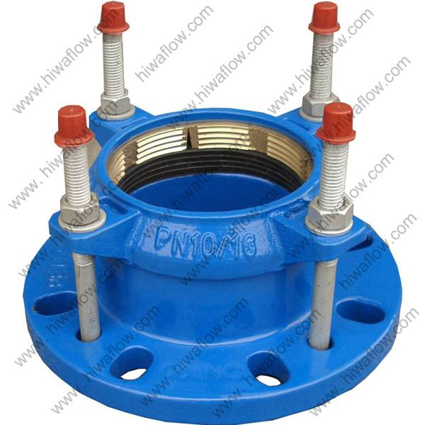 Quick Flange Adaptor for PVC/PE Pipe Fig.FA40