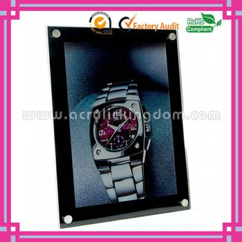 6 x 4 wall mounted acrylic photo frame
