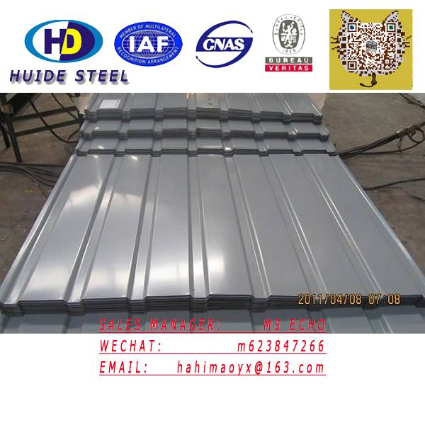 Roofing sheet Corrugated Galvalume