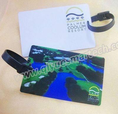 Plastic PVC Golf Bag Tag