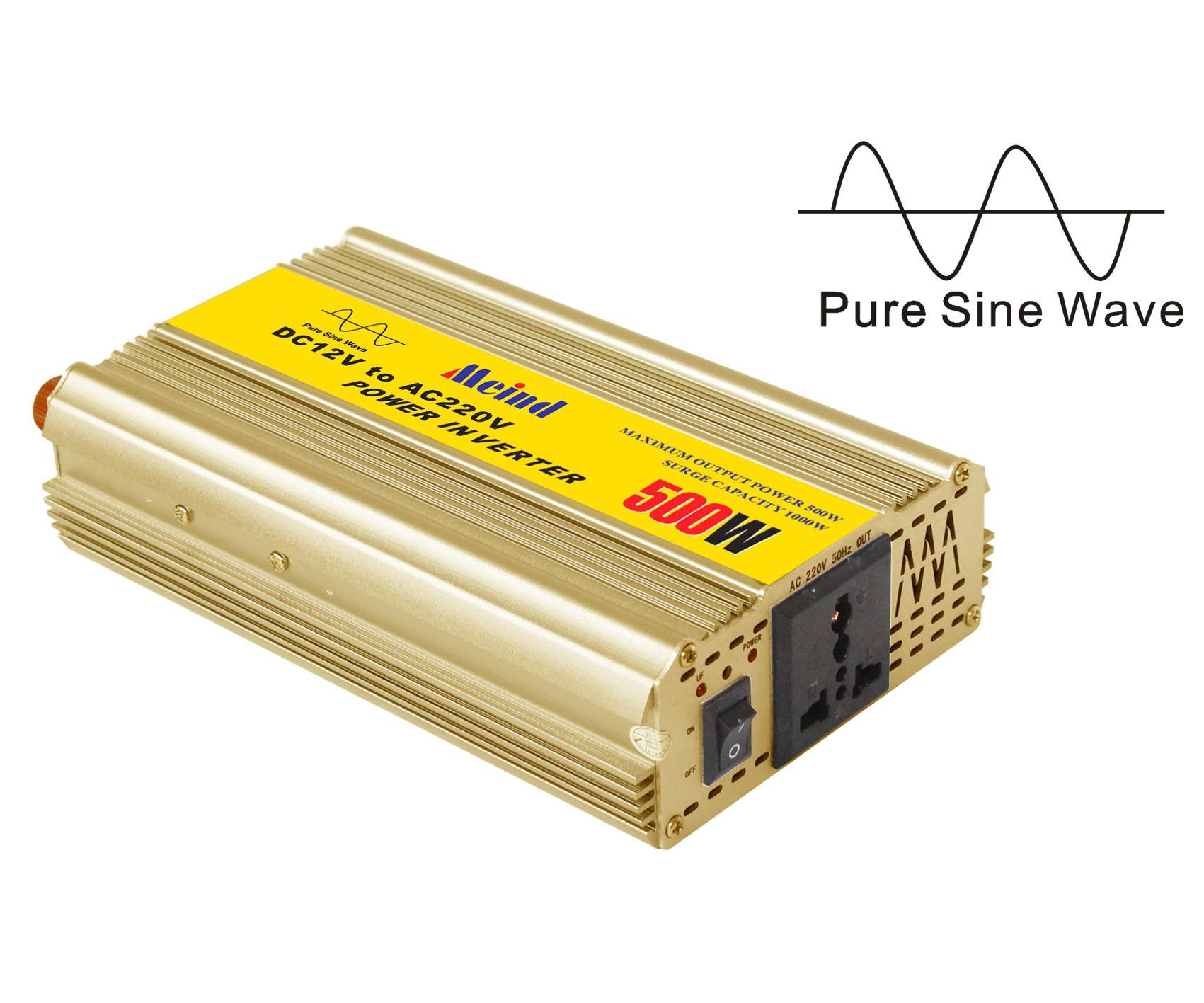 600W Pure Sine Wave Inverter for home,solar off grid system,etc