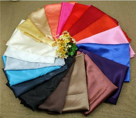 Wholesale:140 colors,Polyester Satin Fabric,50D50D,50D75D,75D100D