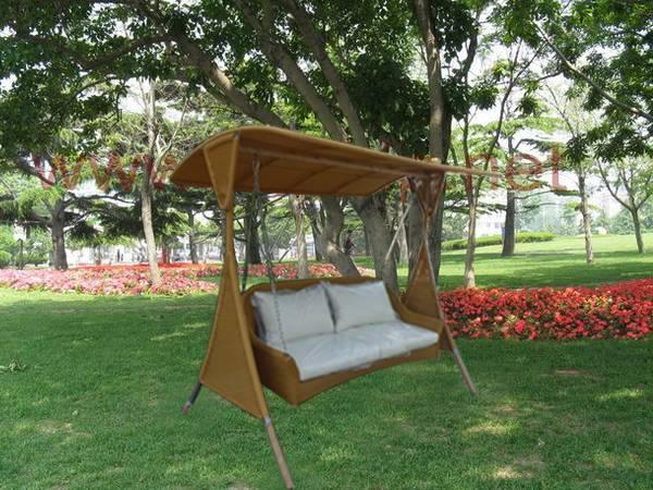 Patio Swing Chair Wicker Furniture
