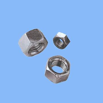 hex nuts single chamfered