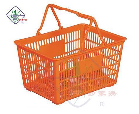 plastic shopping basket/shopping basket/basket