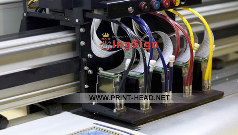 Used KM512LN-42 Printhead