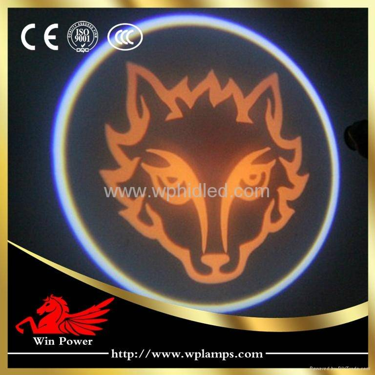 5W Wolf Laser Logo Light Car LED Door Courtesy Light