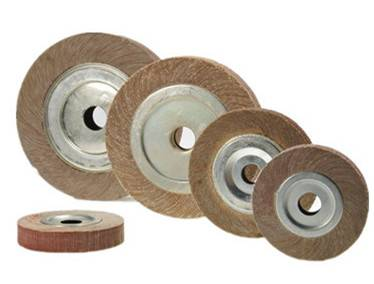 China factory 2503025.4mm polishing wheel for metal surface aluminum oxide sanding flap wheel