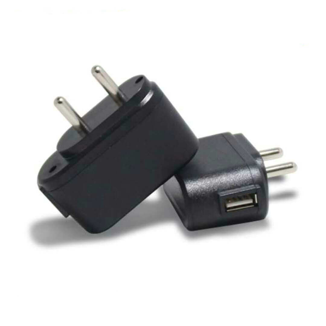 India Plug Wall Adapter 5V 1A Power Adapter for Mobile Phone