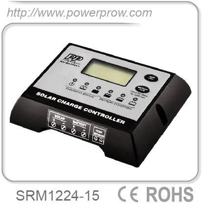 Digital 12/24v 15a solar charger solar battery charger controller