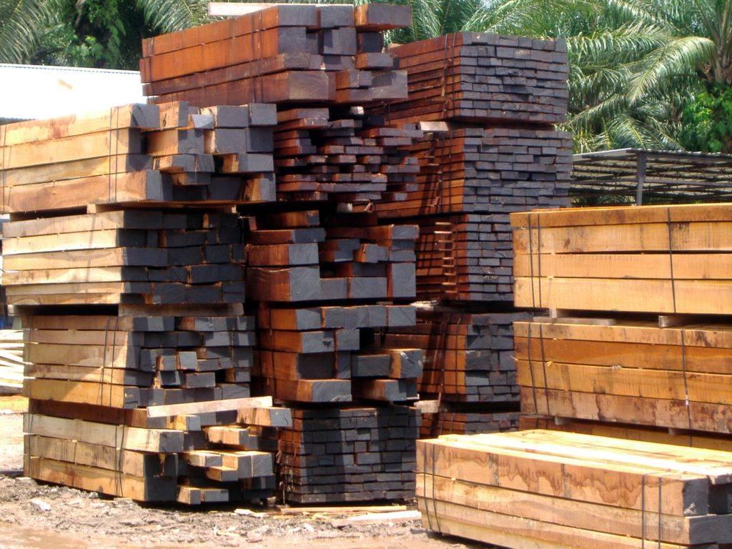Merbau sawn timbers