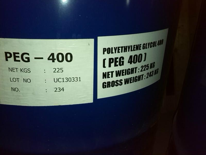 Polyethylene glycol (PEG200 300 400 600)