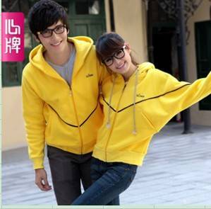 Fleeces coat Autumn clothing New arrival Corea batwing thicken couple fleeces L62