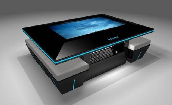 32inch Interactive Touch Screen Table, Interactive LED Table, Touch Screen Coffee Table (ETT3212)