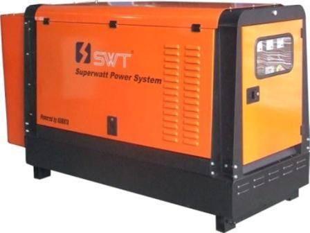 diesel generator power by kubota engine