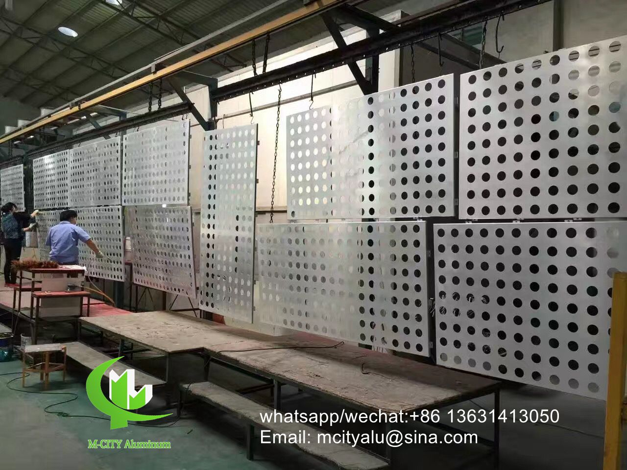 Foshan aluminum perforated cladding facade panel