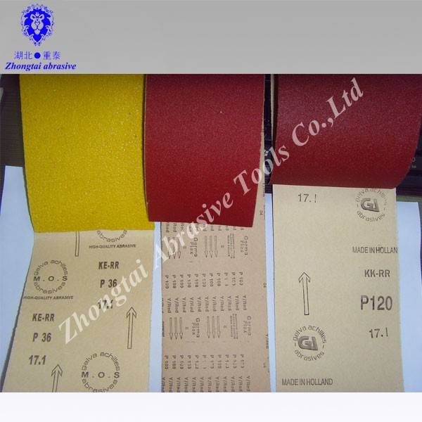 OEM Sand paper roll for hand use
