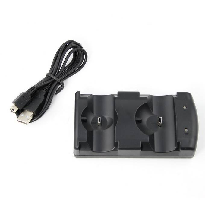 Dual Charging Dock USB for PS3 Controllers PS3 Move