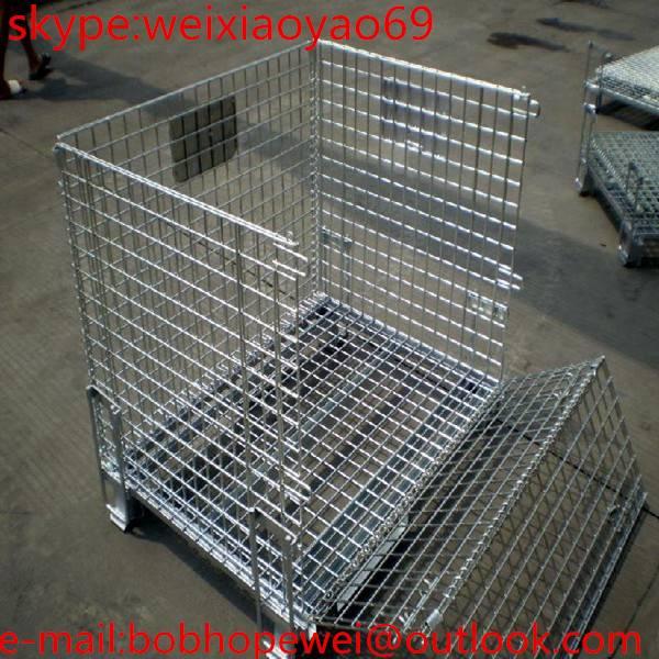 Warehouse Folding Storage Cage