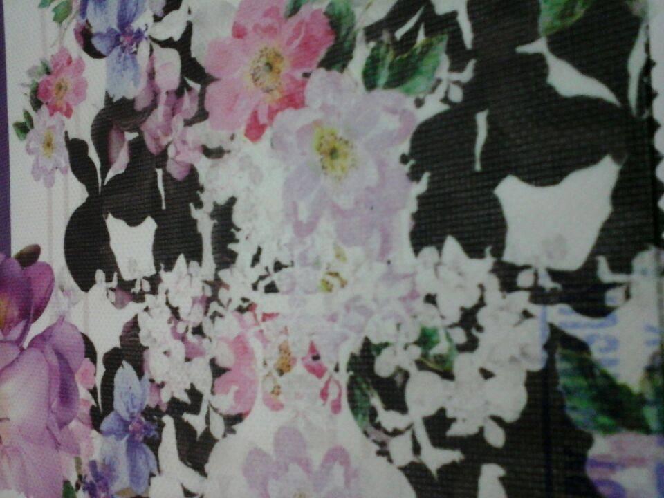 digital print for silk cotton JQD fabric