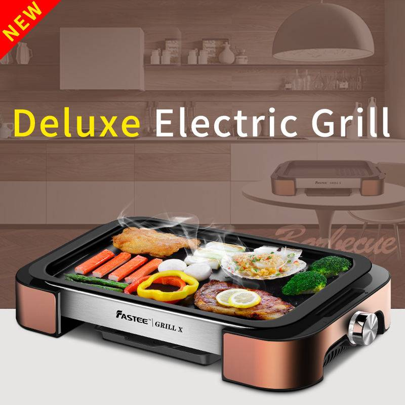 Barbecue grill and electric table top grill