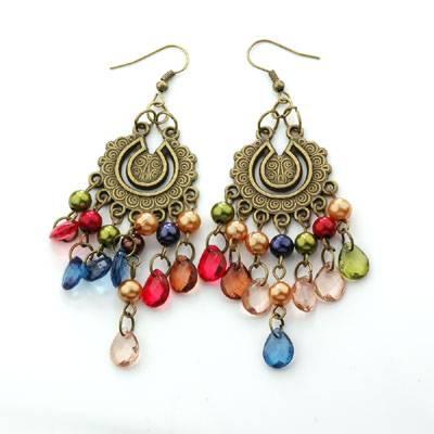 sell handmade earring,acryl earring,brooch,navel button,body piercing