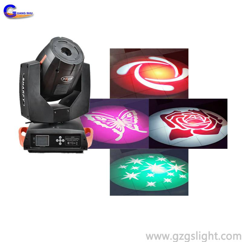 7R Sharpy 230w Moving Head Beam Spot Light (A230GS-TA)