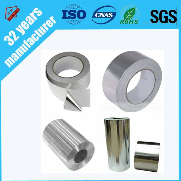 China no slotted insulation material foil tape with SGS certificate