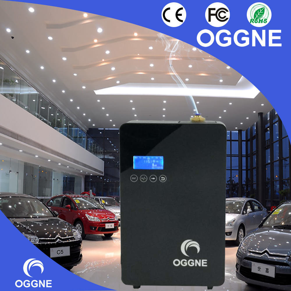Larger area used air conditioner connected hvac scent air delivery machine