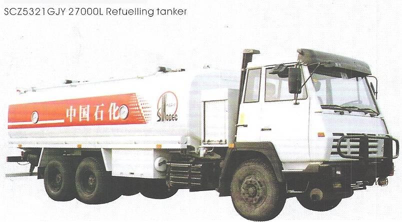 Oil Refuelling tanker