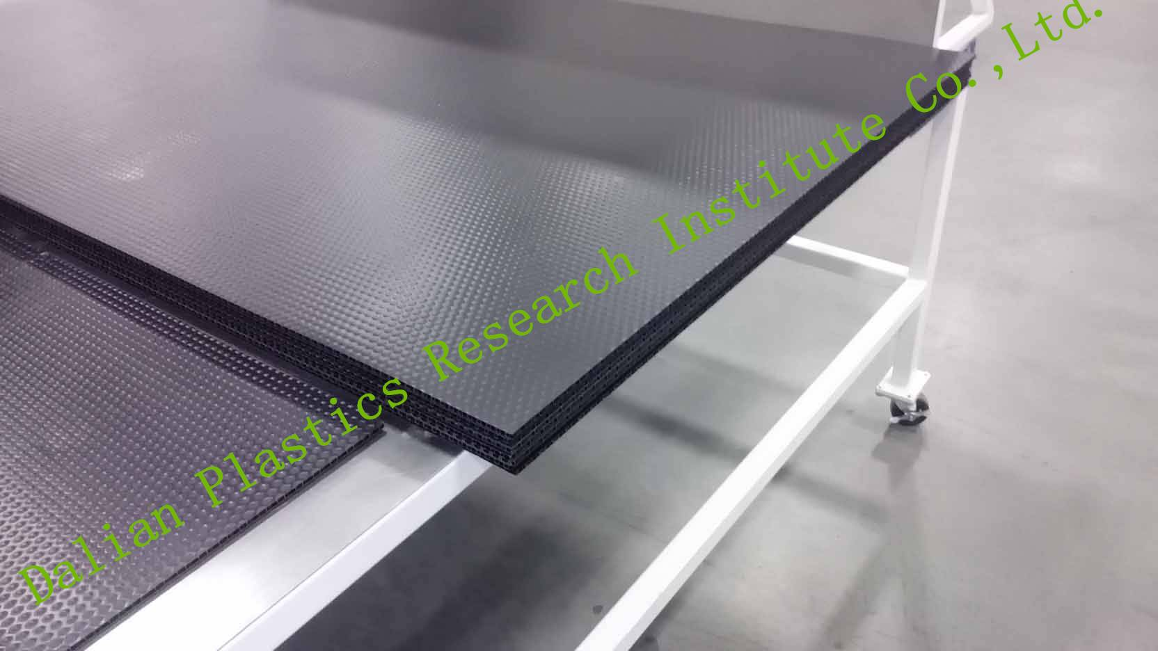 PP Plastic honeycomb board machine/ production line