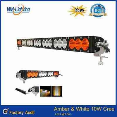 Multi color led light bar 22inch 120W amber led light 4x4