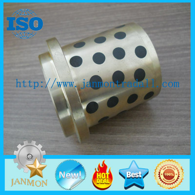Graphite bronze bushing,Graphite bronze bush,Oilless graphite brass bushing ,Brass Graphite Bearing