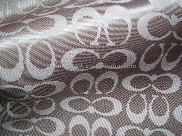 bag fabric with jacquard
